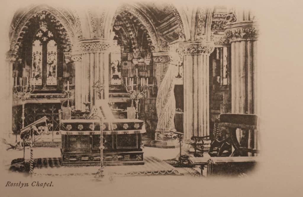 Rosslyn Chapel, binnen