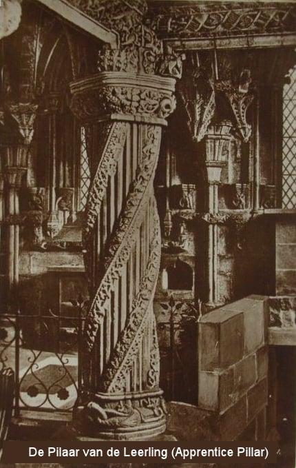 Rosslyn Chapel, pilaar