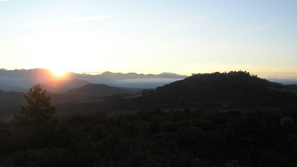RlC zonsondergang