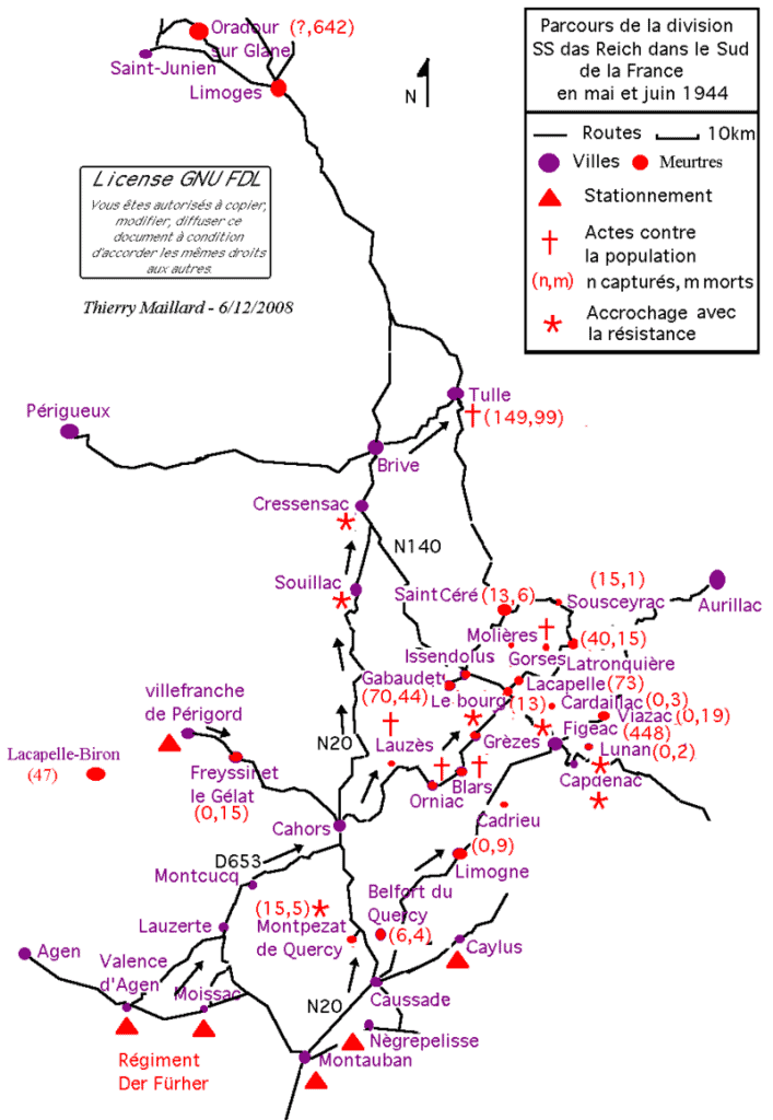 Divizion Das Reich Mei-Juni 1944