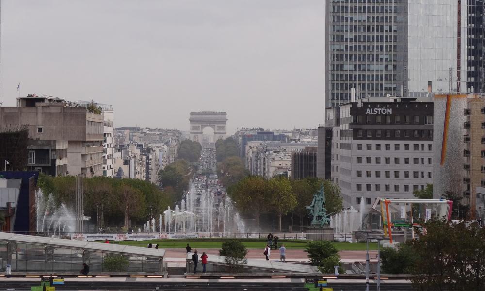 Parijs - Historische As