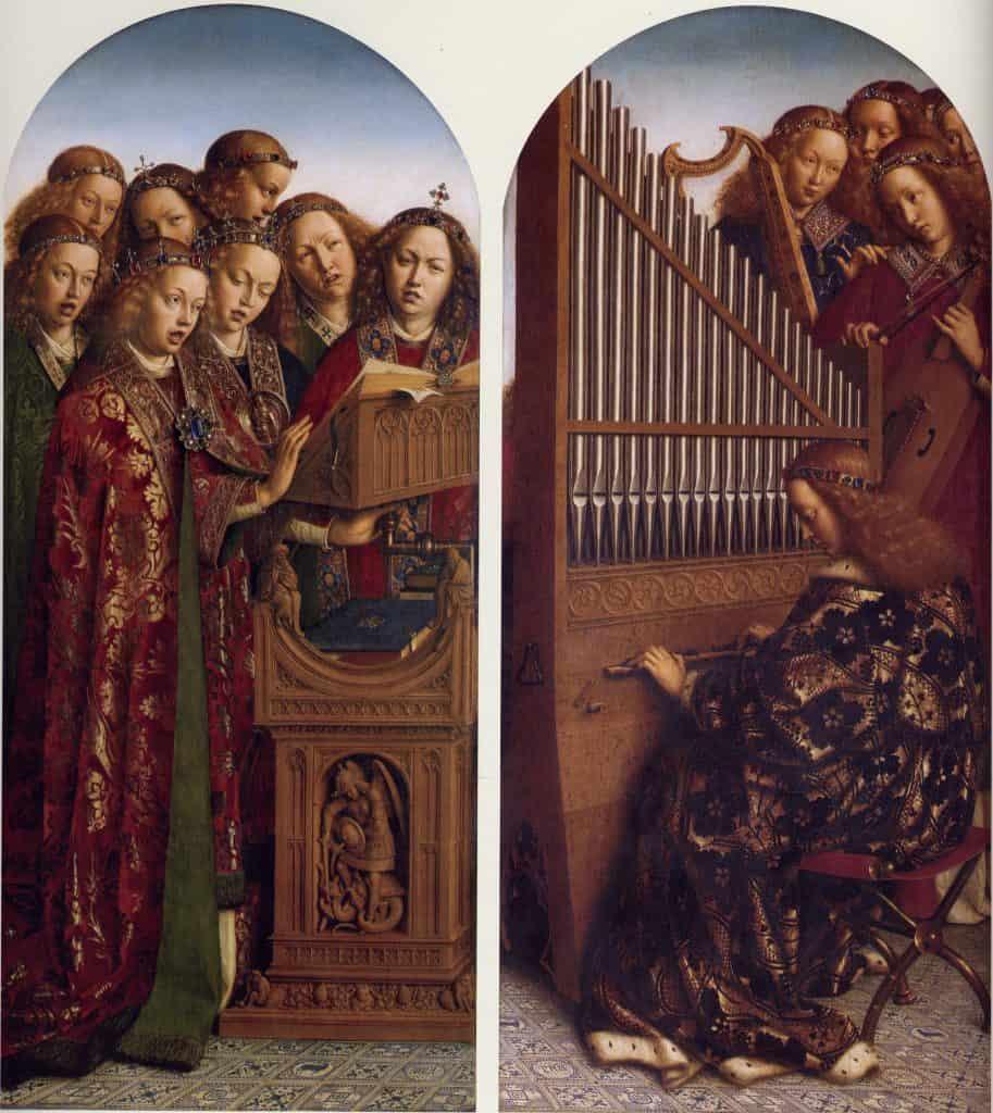 Lam Gods - Musicerende engelen