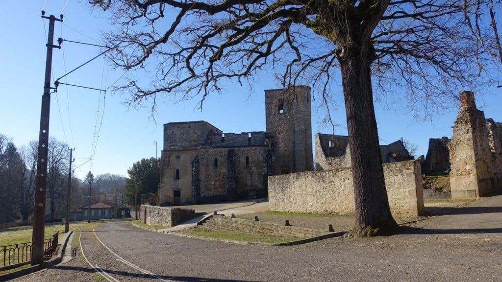 Oradour-sur-Glane Kerk