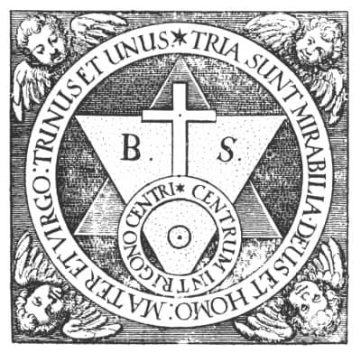 alchemistisch embleem