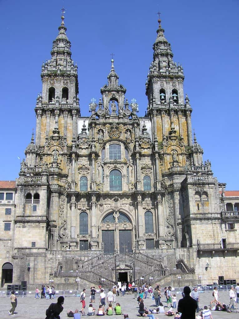 Plein Santiago de Compostela