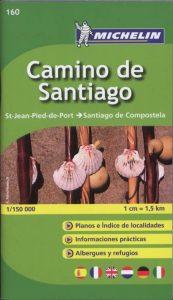 kaart naar Santiago