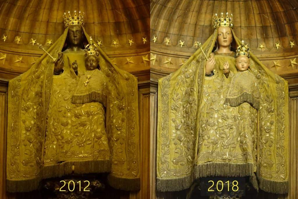 Chartres - zwarte madonna
