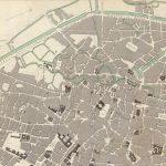 Brussel - oude kaart 1837