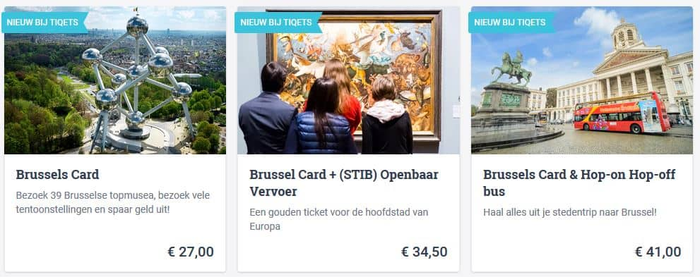 Brussel - tiqets