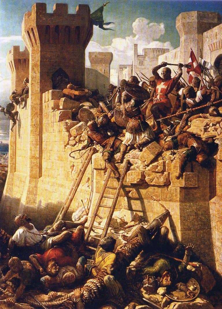 Val van Akko 1291 (Dominique Papety - Versailles)