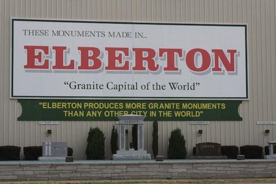 Elberton graniet fabriek