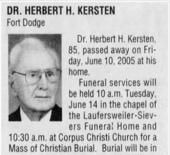 Herbert Kersten