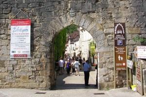 Rocamadour ingang