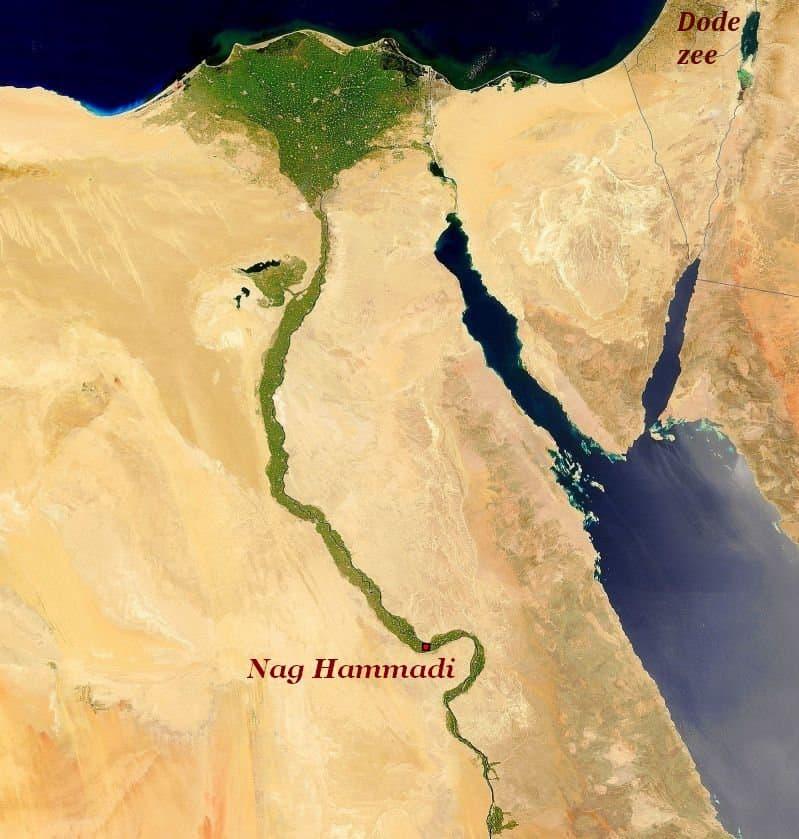 Kaart Nag Hammadi