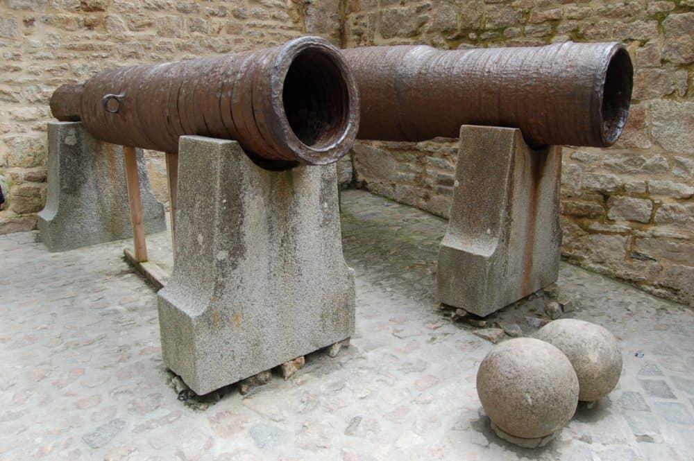 Bombardes buitgemaakt op de Engelsen op 17 juni 1434