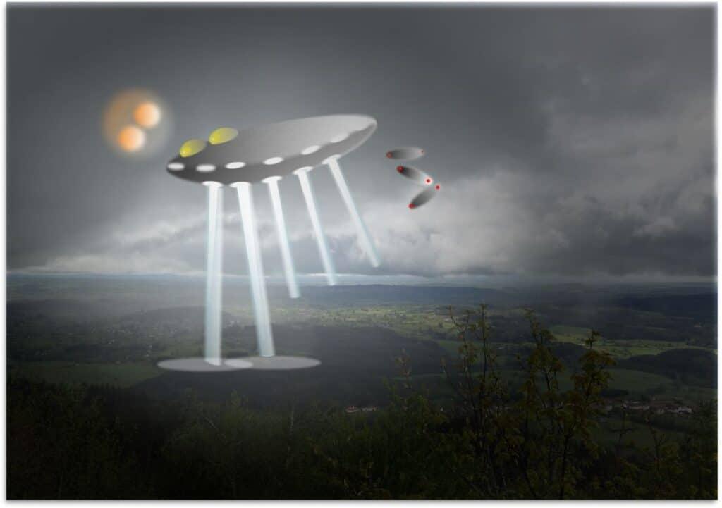 Ufo boven Taizé