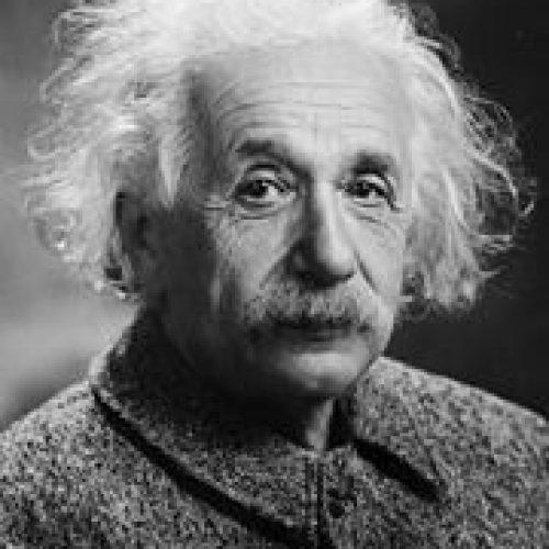 Albert Einstein - Photograph by Orren Jack Turner, Princeton, N.J. Modified with Photoshop by PM_Poon and later by Dantadd., Public domain, via Wikimedia Commons